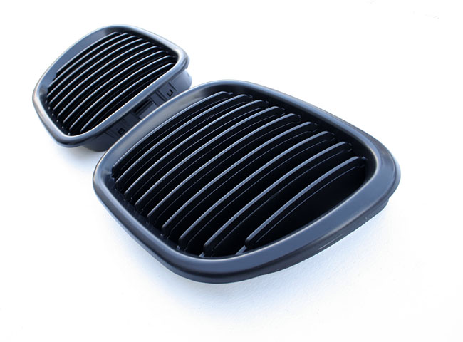 bmw z3 m nieren k hlergrill front grill schwarz 96 02 ebay. Black Bedroom Furniture Sets. Home Design Ideas