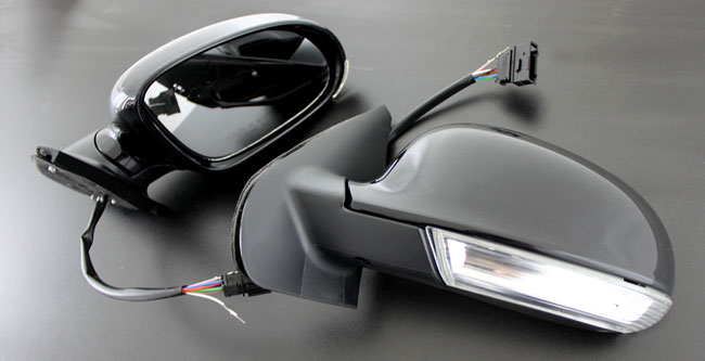vw golf 4 golf 5 design spiegel aussenspiegel led usa ebay. Black Bedroom Furniture Sets. Home Design Ideas