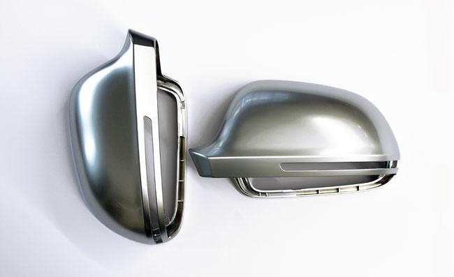 audi s4 a4 8k b8 matte spiegel alu look spiegelkappen 8 ebay. Black Bedroom Furniture Sets. Home Design Ideas